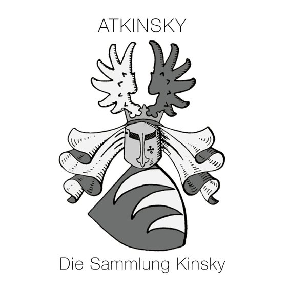 The Logo of Palma Hat Week and atKinsky die Sammlung Kinsky shows the coat of arms of the Count Kinsky of Wchnitz and Tettau Family